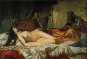 """Odalisque"" de Mariano Fortuny. ¿Censurable?"
