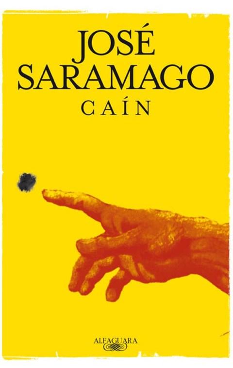 "Portada de ""Caín"", de José Saramago."