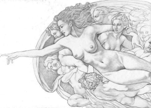 """""""Dios Mujer"""" de Mark Blanton"""