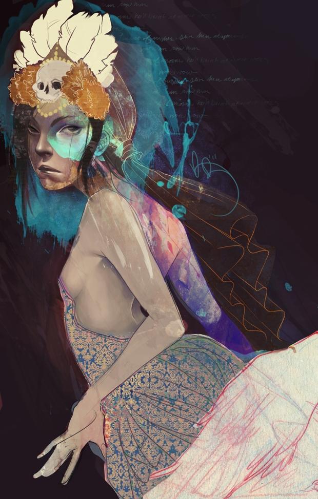 Arte por Kelsey Beckett