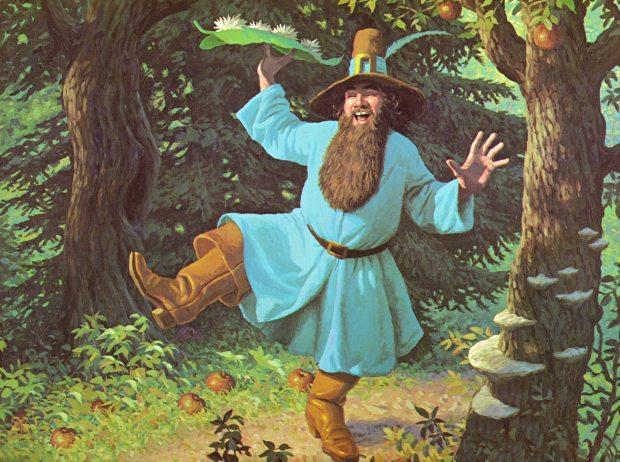 Una de las primeras versiones de Tom Bombadil, alegre y despreocupado como Tolkien lo describía.