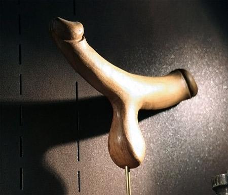 PIeza en el Museo del Sexo de Moscú, Rusia.