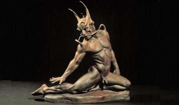 Erotic sculpture. Robert John Guttke
