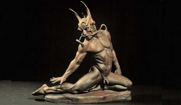 Erotic sculpture. Robert John Guttke