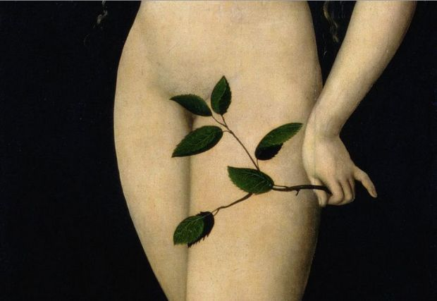 """""""Eve"""", de Lucas Cranach."""