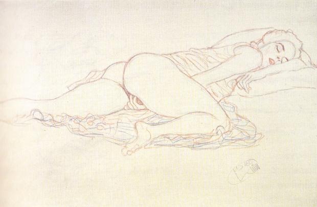 Pieza de Gustav Klimt.