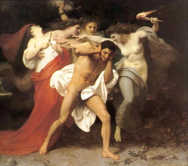 """""""Orestes perseguido por Las Furias"""""""