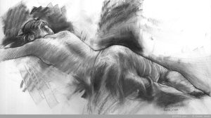 resting-girl-charcoal